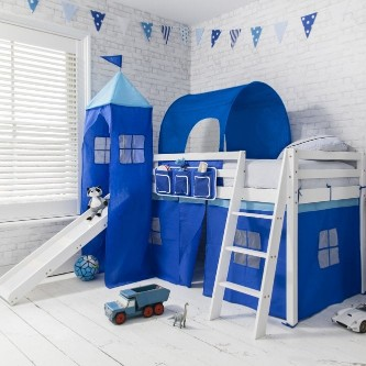 Mid Sleeper Beds with Slides