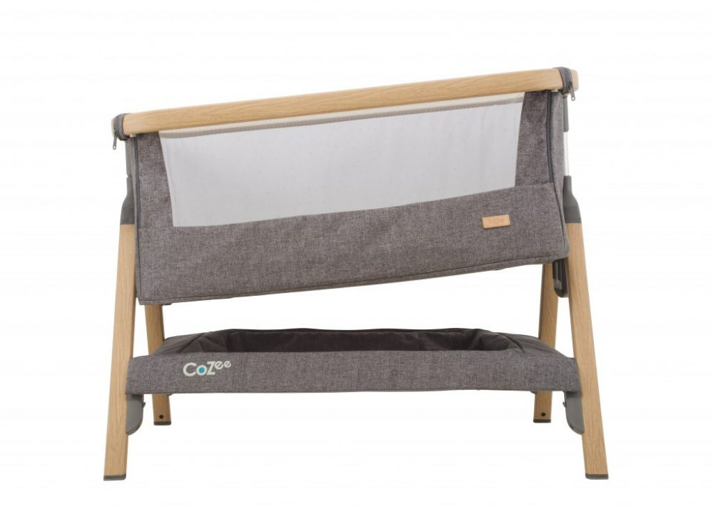 Tutti bambini cozee bedside crib Incline option which can help aid congestion and reflux