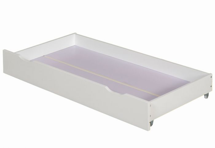 under bed storage solutions a white drawer