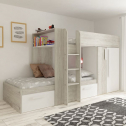 6 GREAT Mid Sleepers with a Wardrobe Drawers Storage