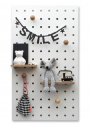 Handy storage solution pegboards