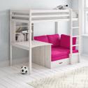 Cutler European Single Futon Bunk Bed